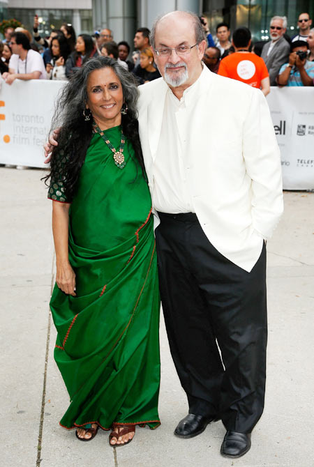 Deepa Mehta and Salman Rushdie