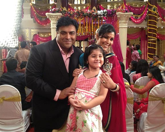 Ram Kapoor and Sakshi Tanwar