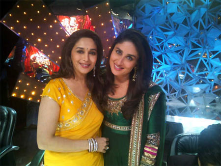 Madhuri Dixit and Kareena Kapoor