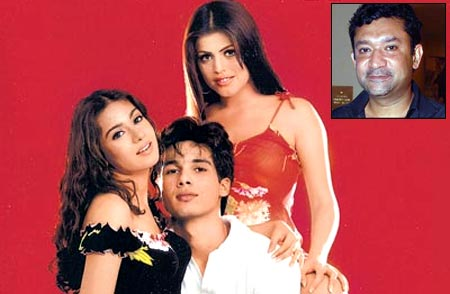 Amrita Rao, Shahid Kapoor and Shenaz Treasurywala in Ishq Vishk. Inset: Ken Ghosh
