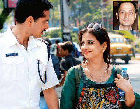 Parambrata Chatterjee and Vidya Balan in Kahaani. Inset: Sujoy Ghosh