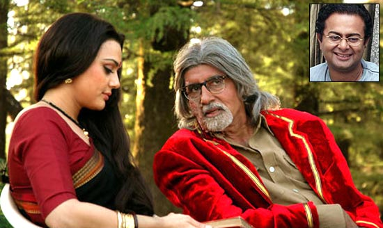 Preity Zinta and Amitabh Bachchan in The Last Lear. Inset: Rituparno Ghosh
