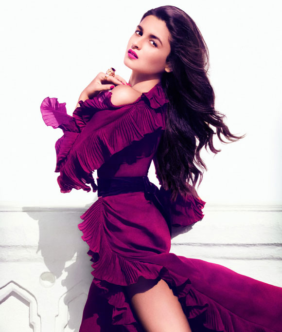 Alia Bhatt on Vogue
