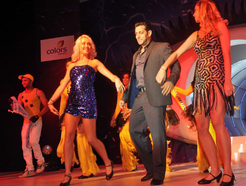 Salman Khan performs at the show's launch