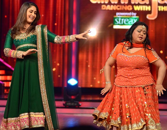 Kareena Kapoor with Bharti Singh
