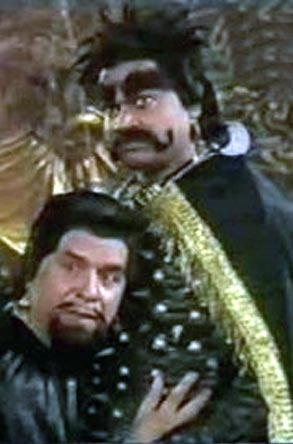Akhilendra Mishra (right) in Chandrakanta