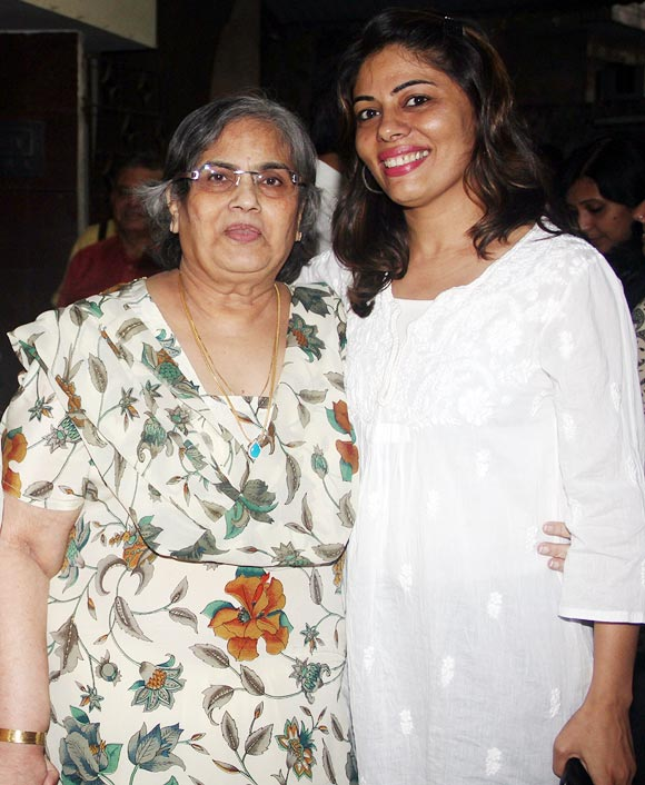 Salma Khan and Renu Bhandarkar