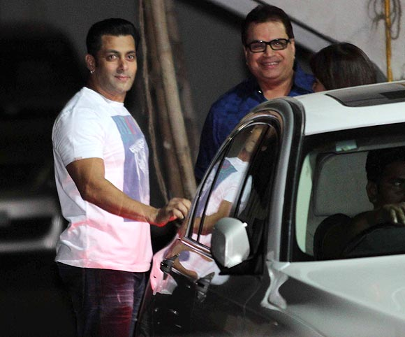 Salman Khan and Ramesh Taurani