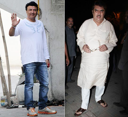 Anu Malik and Raza Murad