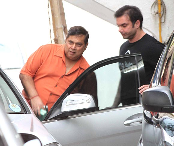 David Dhawan and Sohail Khan