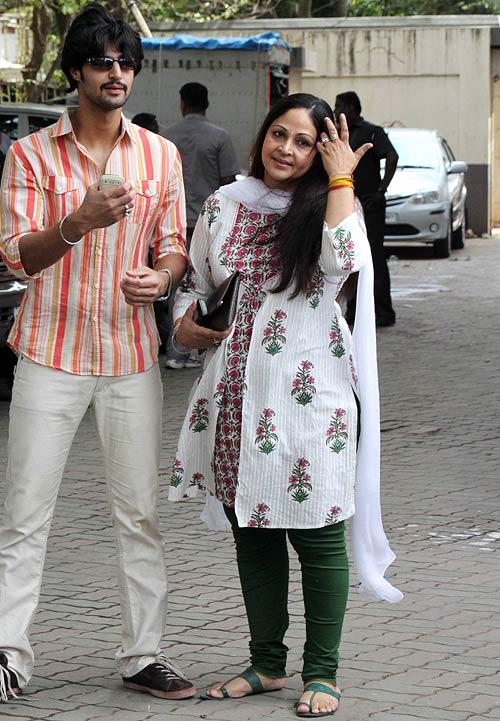 Tanuj Virwani and Rati Agnihotri