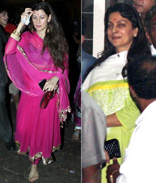 Sangeet Bijlani and Juhi Chawla