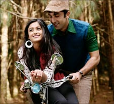 Ileana and Ranbir Kapoor in Barfi!