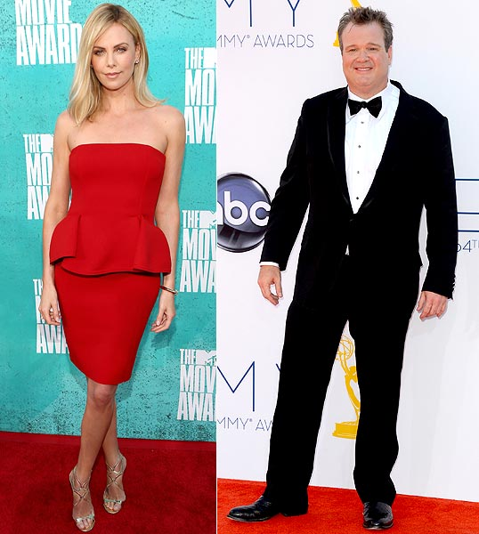Charlize Theron and Eric Stonestreet