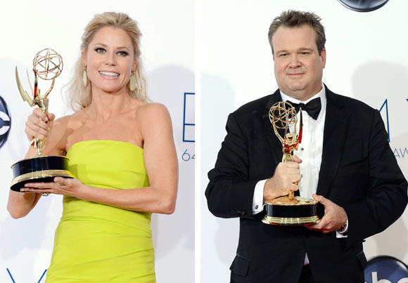 Julie Bowen and Eric Stonestreet