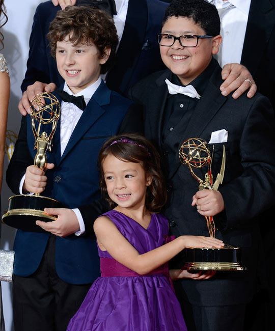 Nolan Gould, Aubrey Anderson-Emmons and Rico Rodriguez