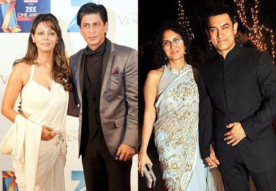 Gauri-Shah Rukh Khan, Aamir Khan-Kiran Rao