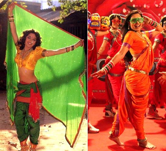Madhuri Dixit and Rani Mukerji