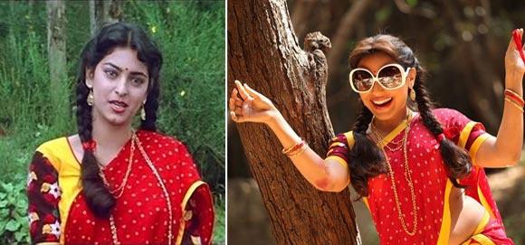 Juhi Chawla and Rani Mukerji