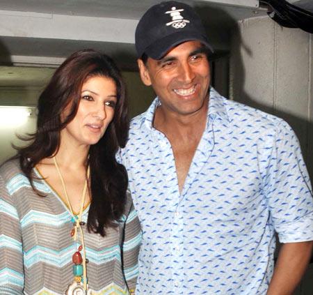 Twinkle and Akshay Kumar