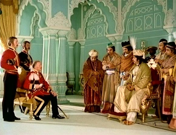 A scene from Shatranj Ke Khilari