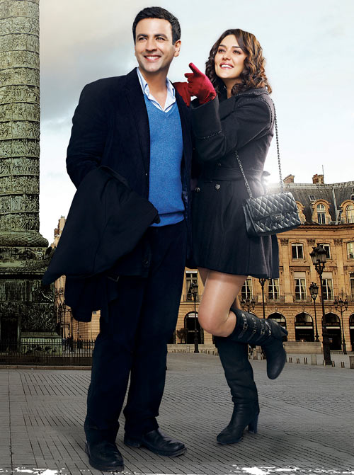 Rehan Malik and Preity Zinta in Ishkq In Paris