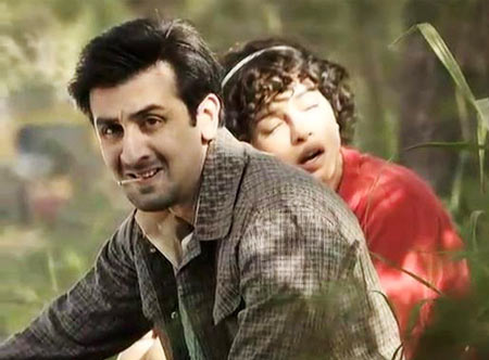 A scene from Barfi
