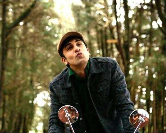 Ranbir Kapoor in Barfi!