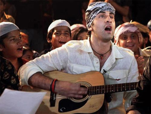 Ranbir Kapoor in Rockstar