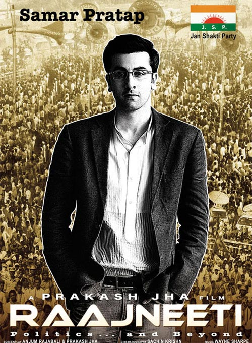 Ranbir Kapoor in Raajneeti