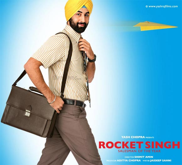 Ranbir Kapoor in Rocket Singh: Salesmen of the Year