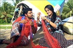 A scene from Puthiya Theerangal