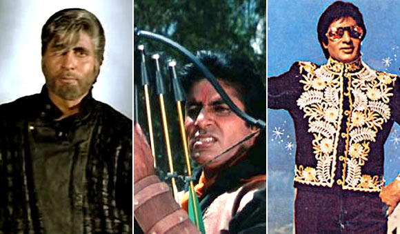 Scenes from Shahenshah, Toofan and Jadugar