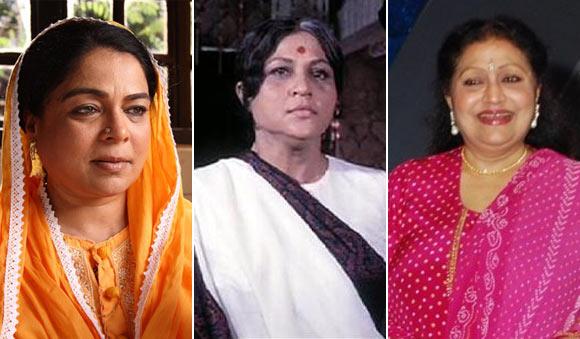 Reema Lagoo, Nirupa Roy and Bindu