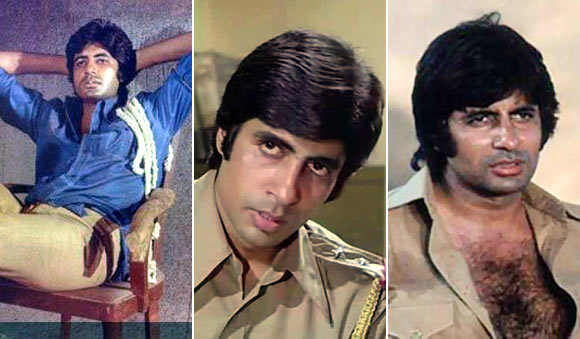 Scenes from Deewar, Zanjeer and Trishul