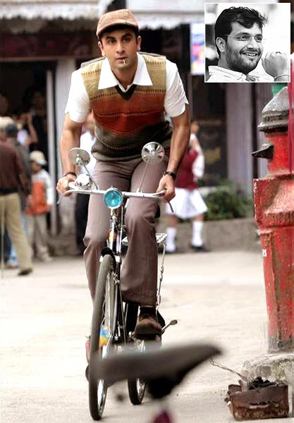 A scene from Barfi!. Inset: Karan Malhotra
