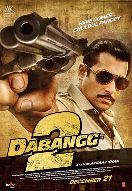 Movie poster of Dabangg 2
