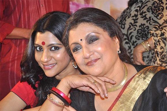 Konkona Sen Sharma and Aparna Sen