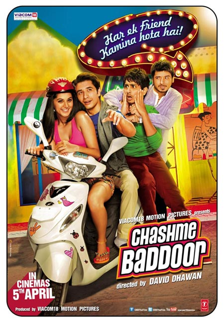 Movie poster of Chashme Baddoor