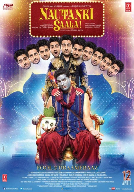 Movie poster of Nautanki Saala