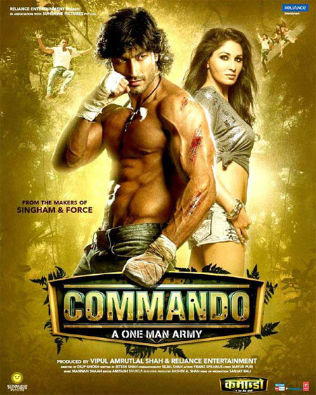 Movie poster of Commando
