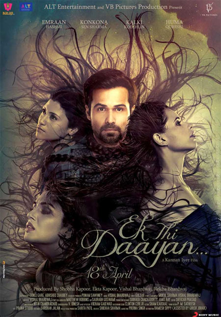 Movie poster of Ek Thi Daayan