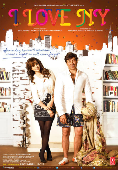 Movie poster of I Love NY