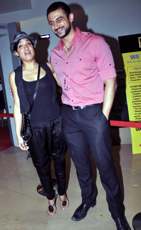 Sandhya Mridul and Arunoday Singh