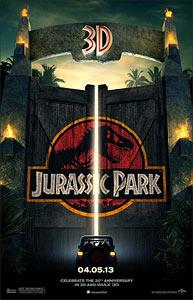 The Jurassic Park 3D poster