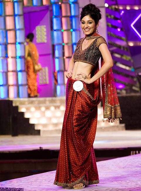 Pooja Chopra at the Pantaloons Femina Miss India Contest 2009
