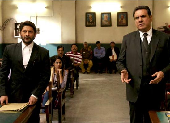 A scene from Jolly LLB