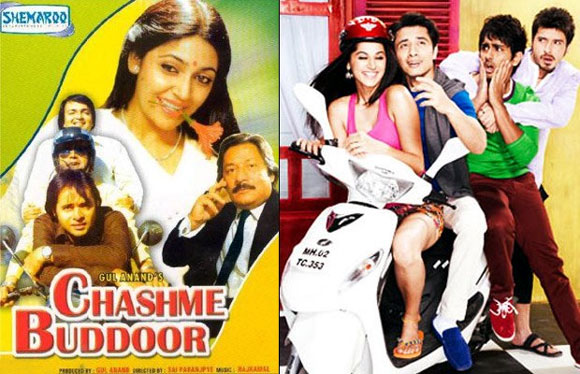 Chashme Buddoor: Original and remake