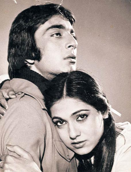 Sanjay Dutt and Tina Ambani in Rocky