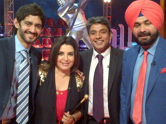 Gaurav Kapoor, Farah Khan, Ajay Jadeja and Navjot Singh Sidhu